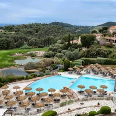 Dolce fregate provence hotel pool 1